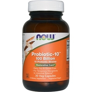 Now Probiotic-10 25 bilion 30 vcaps