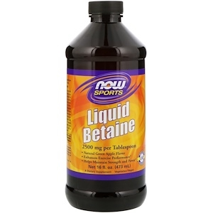 Now Liquid Betaine 473 ml