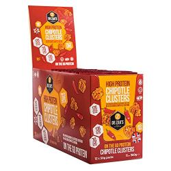 Dr. Zak High Protein Chipotle Clusters 12x30 g packs