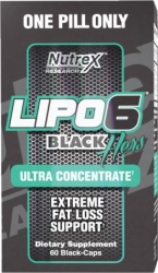 Lipo 6 Black Hers Ultraconcentrate New