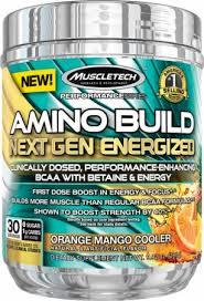 Muscletech Amino Build Next Gen Energized 30 serv