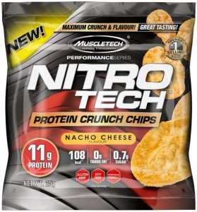 Muscletech Protein Crunch Chips 25 g