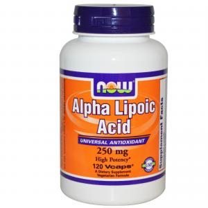 Now Alpha Lipoic Acid 250mg/120 caps