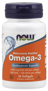 Now omega 3 30 softgels