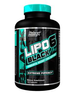 Nutrex Lipo 6 Black Hers New US 120 caps