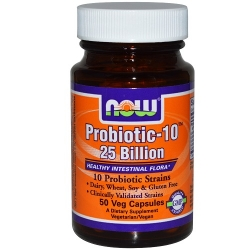 Now Probiotic 10-25 bilion 50 vcaps