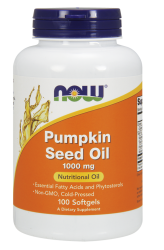 Now Pumpkin Seed Oil 100 softgel