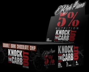 Rich Piana 5% Knock The Carb Out 10 bar