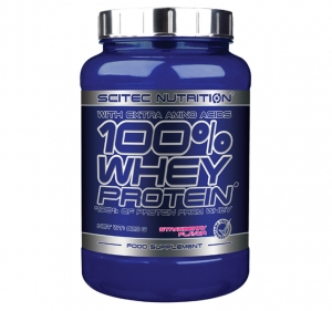 Scitec 100% Whey Protein With Extra Amino Acids 920 g