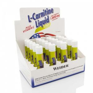 Weider L Carnitine Liquid 20x25ml