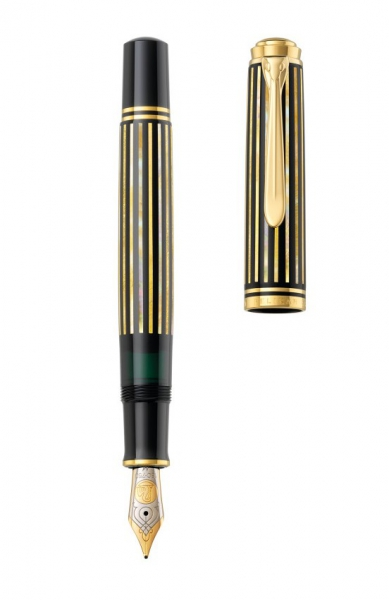 Stilou Pelikan Souveran M800 Raden Royal Gold