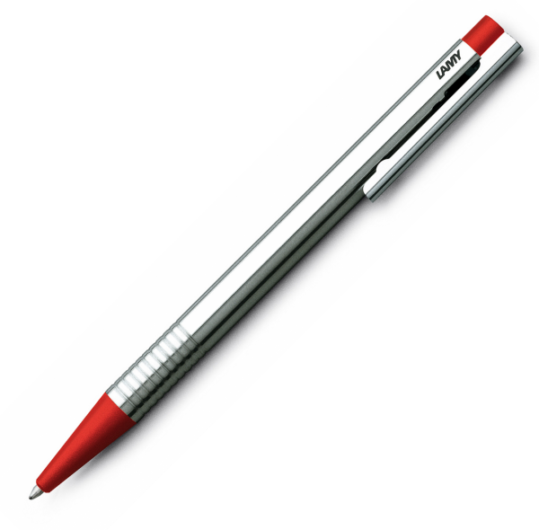 Pix LAMY Logo Stainless Steel / Red