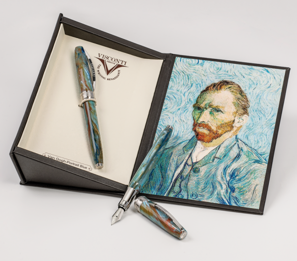 Stilou Visconti Van Gogh Portrait Blue