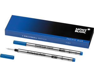 RollerBall Refills PACIFIC BLUE set 2 buc MONTBLANC