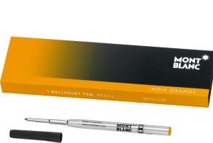 Ballpoint Pen Refill INDIA ORANGE MONTBLANC