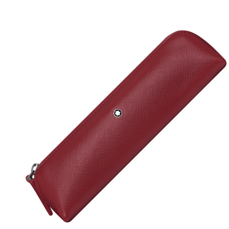 Etui Montblanc Sartorial 2 Pen Pouch Zip Top Red