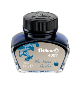 CALIMARA CERNEALA PELIKAN 4001 BLUE BLACK 30ML