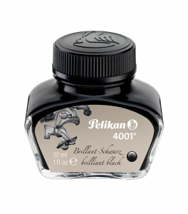 CALIMARA CERNEALA PELIKAN 4001 BRILLIANT BLACK 30ML