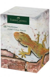 CREIOANE COLORATE POLYCHROMOS 68 BUC FABER-CASTELL - Editie Speciala
