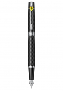 Stilou Sheaffer 300 FERRARI CHEQUERED FLAG ENGRAVING BLACK CT