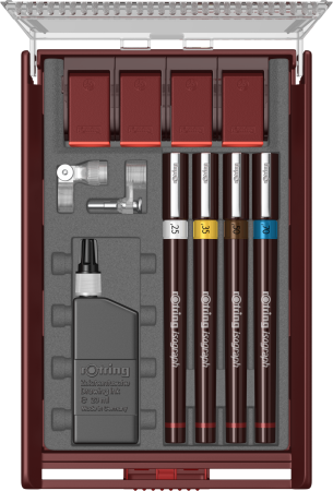 TRUSA ISOGRAPH 4 PIESE ROTRING