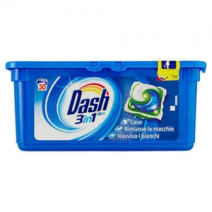 Detergent Dash 3 in 1 Regular 30 capsule