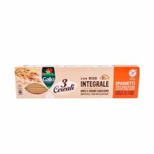 Paste făinoase integrale GALLO Spaghetti 250 grame