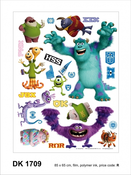 Sticker decorativ DK1709 Monsters