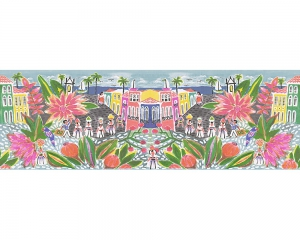 Bordura decorativa 96130-1 Oilily Home