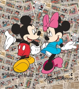 Fototapet FTDxl 1936 Mickey Mouse & Minnie Mouse