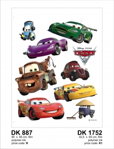 Sticker decorativ DK1752 Cars