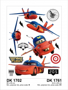 Sticker decorativ DK1761 Cars & Planes