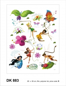 Sticker decorativ DK883 Tinkerbell & Fairies