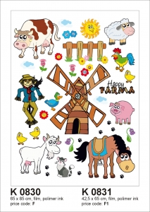 Sticker decorativ K0831 Ferma