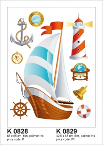Sticker decorativ K0829 Velier