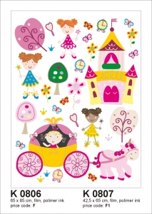 Sticker decorativ K0806 Printese